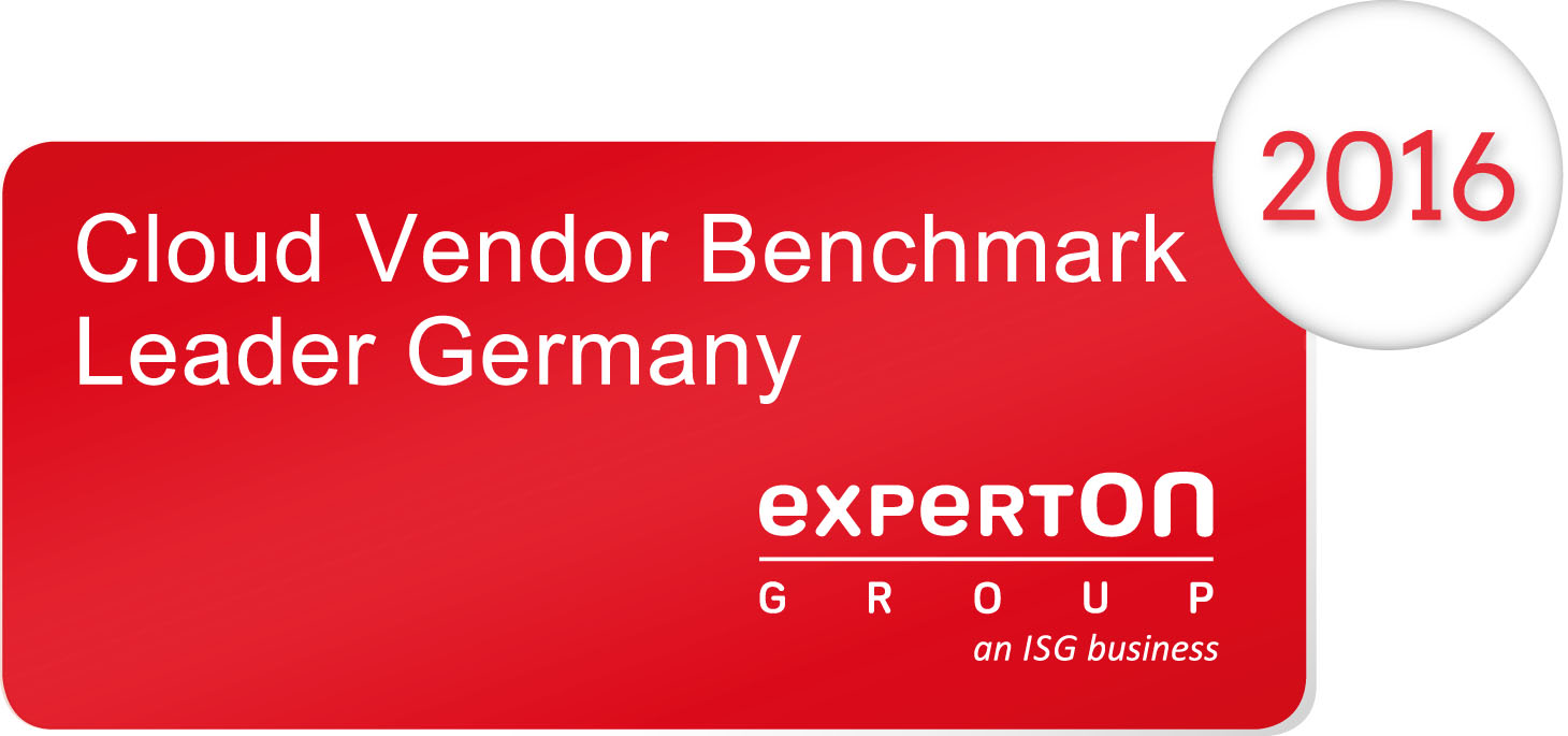 Leader Germany – 2016 Cloud Vendor Benchmark